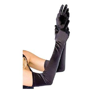 NWT Leg Avenue Extra Long Satin Gloves
